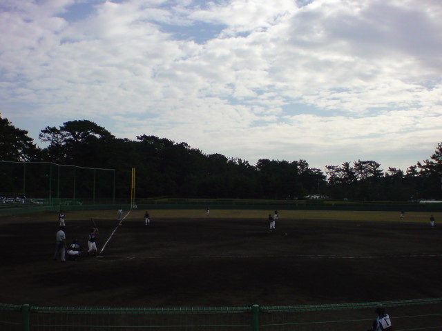 朝から晩まで、野球、野球。